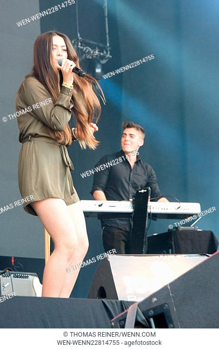 Jasmine Ying Thompson live at Stars for free Featuring: Jasmine Thompson Where: Berlin, Germany When: 30 Aug 2015 Credit: Thomas Reiner/WENN.com