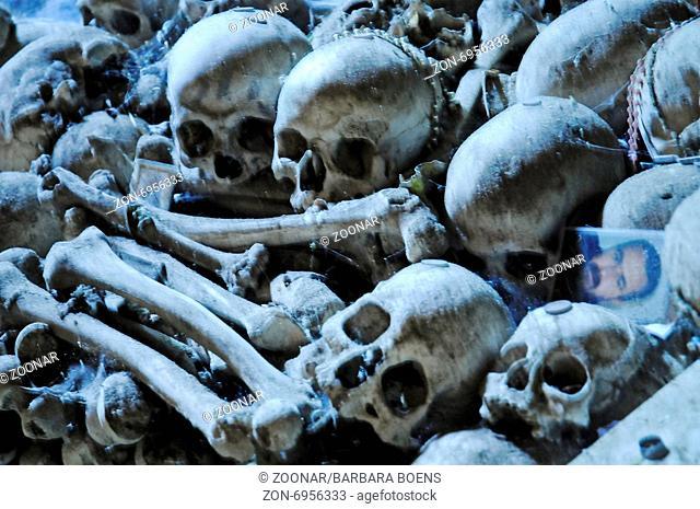 cemetery Fontanelle, Naples, Campania, Italy