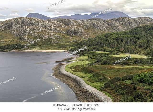 Gruinard Beach, Gairloch, Highlands, Scotland, United Kingdom
