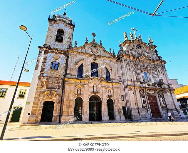 Igreja dos Carmelitas and Igreja do Carmo in Porto, Portugal