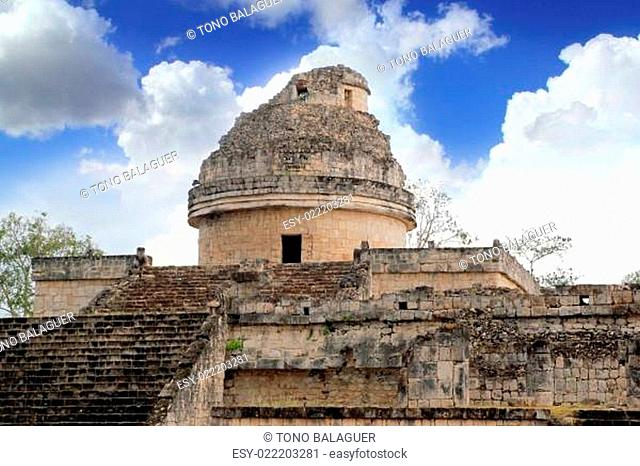 Caracol Mayan observatory Chichen Itza Mexico