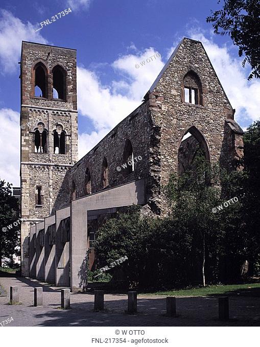 Facade of old church