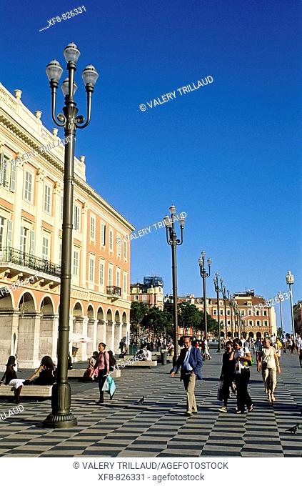 Nice, Place Massena, Alpes-Maritimes, 06, PACA, French Riviera, France, Europe