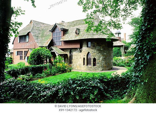 The Sleeper-McCann House known as Beauport, in Gloucester, Massachusetts, New England, USA
