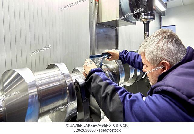 Crankshaft. Machining Center. CNC. Design, manufacture and installation of machine tools. Bost Machine Tools Company. Asteasu. Gipuzkoa