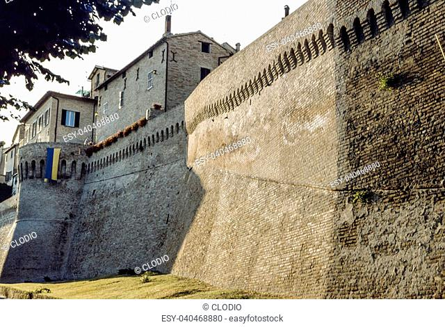 Corinaldo (Ancona, Marches, Italy) - The medieval walls