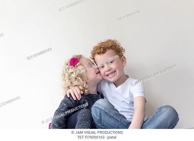 Portrait of two siblings (4-5, 8-9)