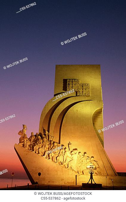 Monument to the Discoveries, Lisbon. Portugal