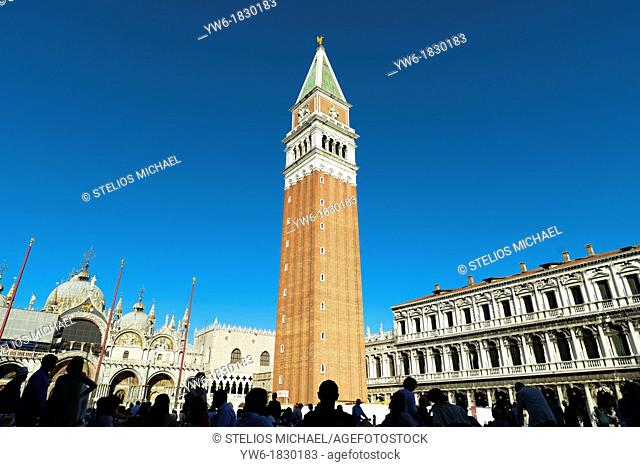 St Mark's Square, Venice,Italy,Europe