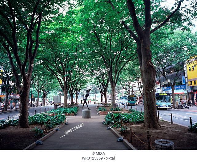 Jyozenji Street in Sendai, Miyagi Prefecture, Japan