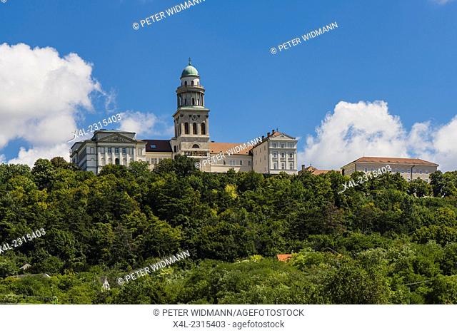 Pannonhalma, monastery on Martins hill, Hungary, Western Hungary