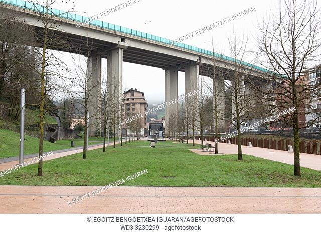 Zumardi Handi park, Tolosa, Guipuzcoa, Basque Country, Spain