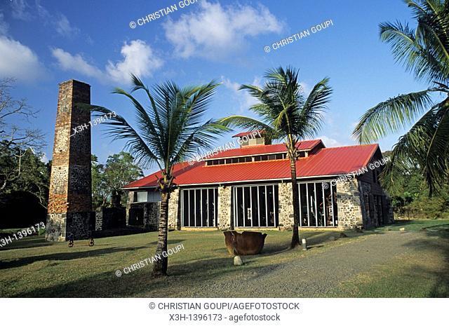 Maison de la Canne, musee,Les Trois-Ilets,Ile de la Martinique Departement et Region d'Outremer francais Archipel des Antilles Caraibes//Maison de la Canne...