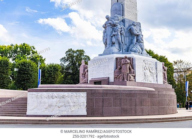 The Freedom Monument is a memorial honouring soldiers killed during the Latvian War of Independence (1918 - 1920). It is considered an important symbol of the...