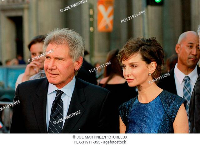 Harrison Ford and Calista Flockhart at the Premiere of Warner Bros. Pictures' 42. Arrivals held at TCL Chinese Theater in Hollywood, CA, April 9, 2013