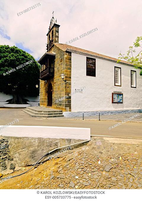 Ermita de las Nieves - famous church near Santa Cruz of La Palma, Canary Islands, Spain