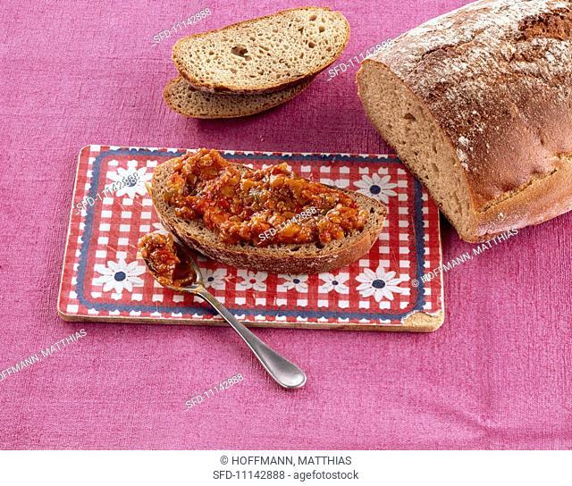 Zacusca Romanian vegetable spread
