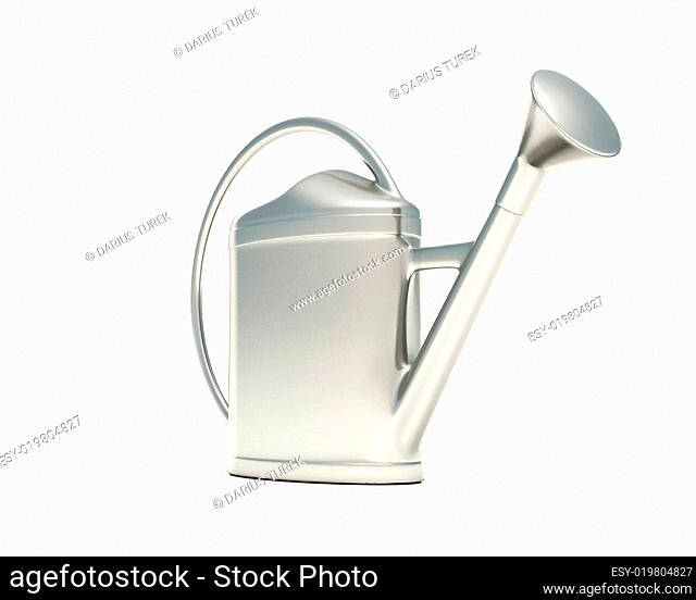 3D - Die Gießkanne - Silber