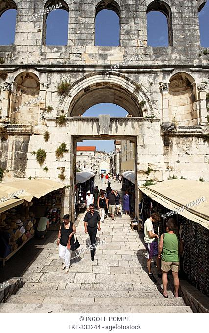 Market, Diocletian's Palace, Split, Split-Dalmatia County, Croatia