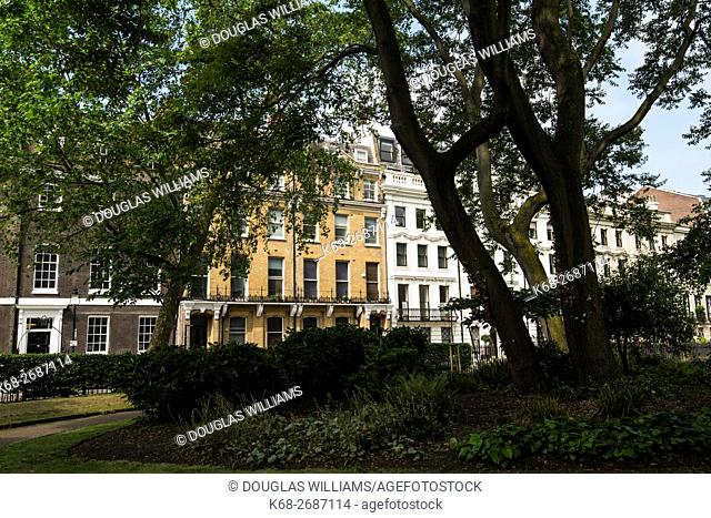 Bloomsbury Square in London, England, UK