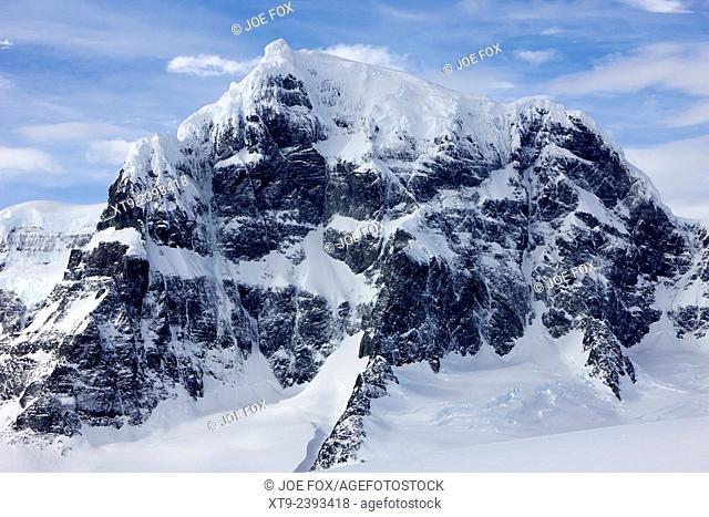 luigi peak fief range wiencke island Antarctica
