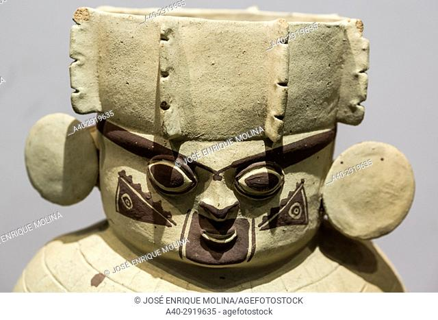 National Museum of Archeology, Anthropology and History of Peru.Lima, Peru. Chancay culture (1200AC-1470AC)