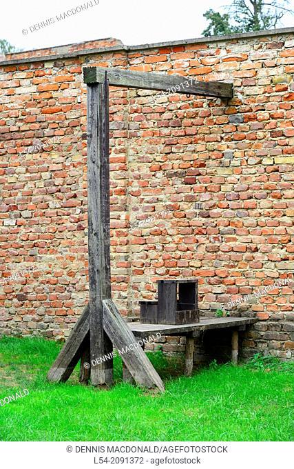 Hanging Terizen Jewish Concentration Camp Czech Republic World War II Nazi