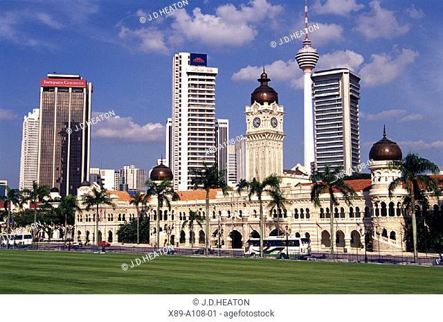 Kuala Lumpur, Sultan Abdul Samad Building, Malaysia