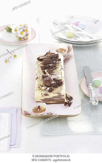 Sabayon chocolate parfait