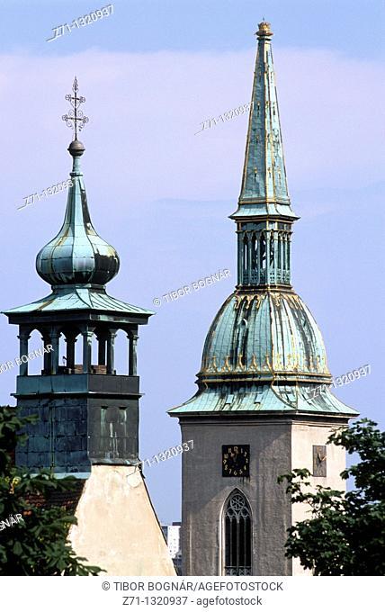 Slovakia, Bratislava, St Martin Cathedral