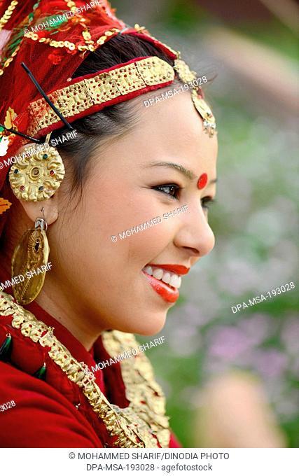Tribal woman, sikkim, india, asia, mr#786