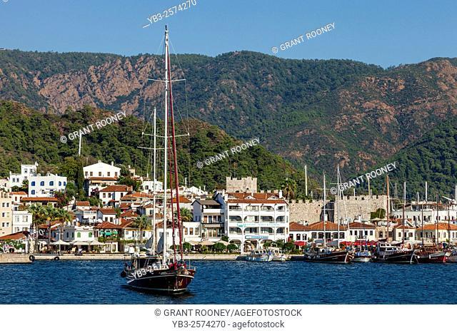 The Seaside Resort Of Marmaris, Mugla Province, Turkey