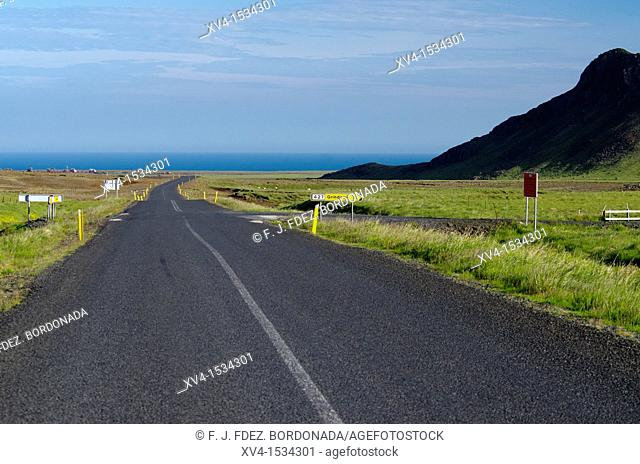 Krysuvik road near Kleifarvam  Nature Park  South west of Iceland