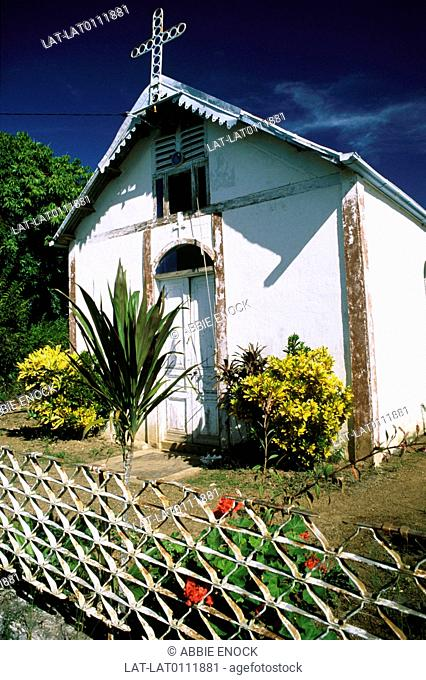 Isle des Pins is an island in the South Province of New Caledonia,an overseas territory of France in the Pacific Ocean. Visiting missionaries built small...