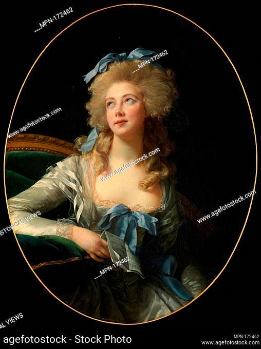 Madame Grand (NoÃ«l Catherine Vorlée, 1761-1835). Artist: Élisabeth Louise Vigée Le Brun (French, Paris 1755-1842 Paris); Date: 1783; Medium: Oil on canvas;...