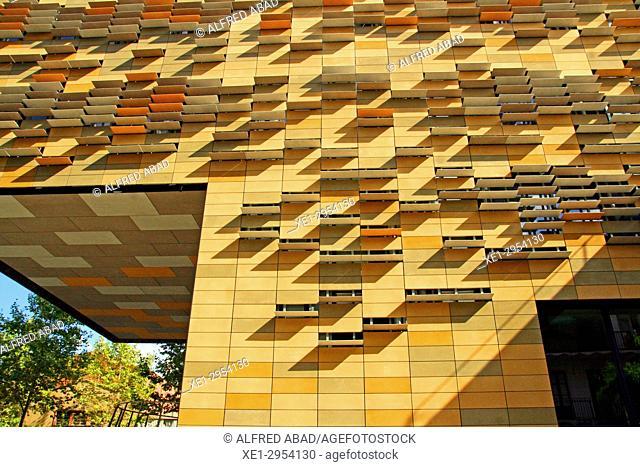 office building, 22 @, Barcelona, Catalonia, Spain