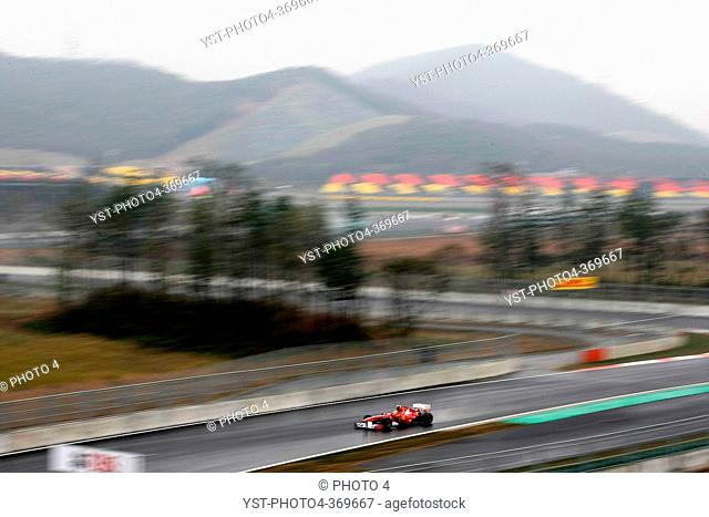 Friday Practice 2, Felipe Massa BRA, Scuderia Ferrari, F-150 Italia, F1, Korean Grand Prix, Yeongam, Korean