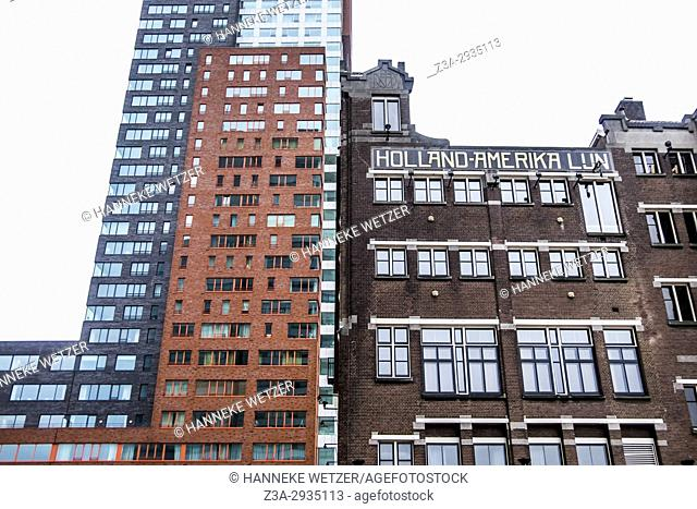 Hotel New York in Rotterdam, the Netherlands, Europe