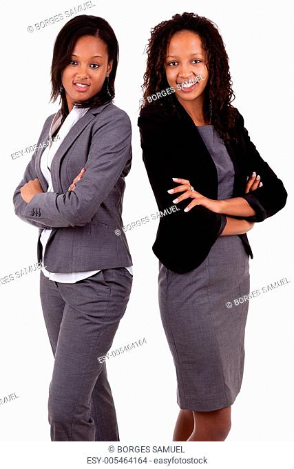 African american business women&039,s with folded arms