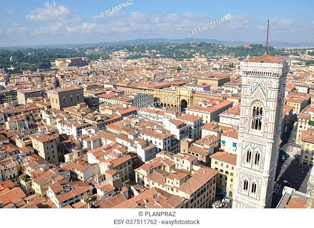 City of Florence, the view from the Cathedral