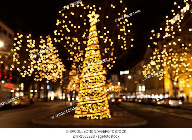 Christmas tree background (Berlin)