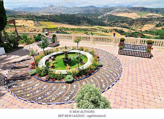 The Terrace, Casa don Bosco, Ronda, Andalucia