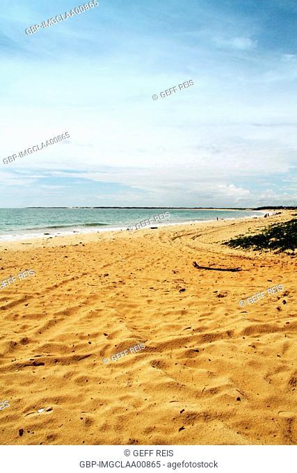 Zumbi beach, Rio do Fogo, Rio Grande do Norte, Brazil