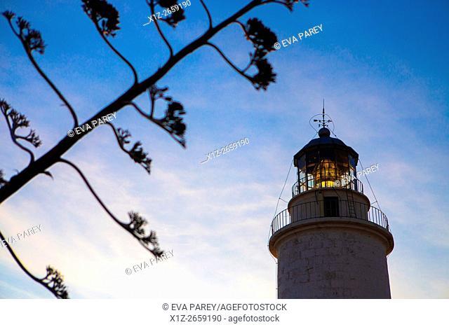 The lighthouse of La Mola. Formentera (Balearic Islands)