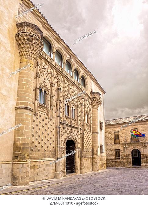 Palacio de Jabalquinto. Baeza. Jaén. Andalusia. Spain