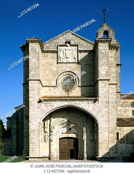St. Thomas' church, Ávila. Castilla-León, Spain