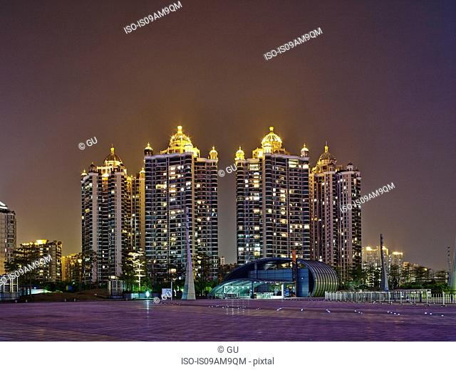 Luxury apartments, Guangzhou, China