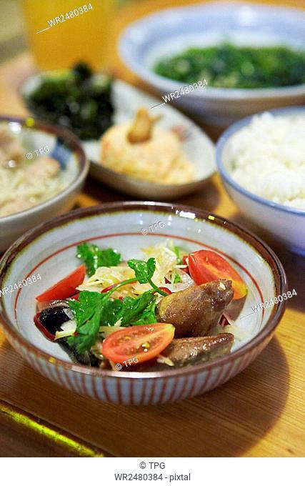 Tainan hsien temple Market xiaoman canteen