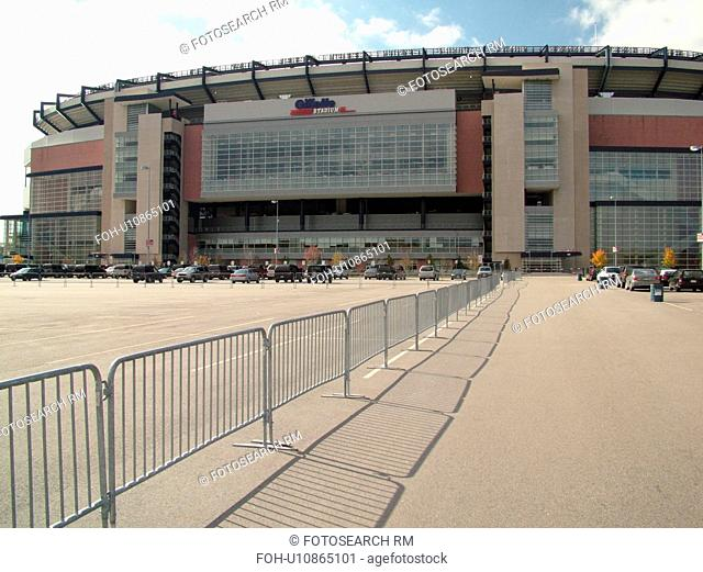Foxboro, MA, Massachusetts, Boston, Gillette Stadium, New England Patriots, football