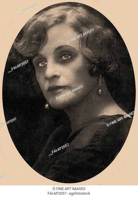 Nadezhda Teffi (1872-1952). Anonymous . Photograph. Private Collection. Portrait